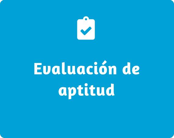 Evaluación de aptitud
